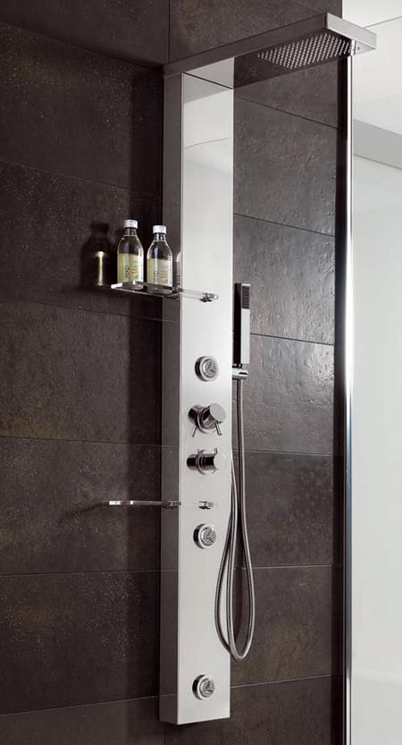 Idrodocce e colonne doccia attrezzate creare un centro - Creare un bagno con sanitrit ...