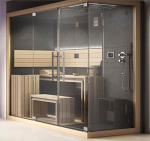 Sauna e bagno turco per il proprio appartamento vasche - Bagno turco in muratura ...