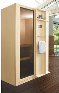 sauna piccola per bagni