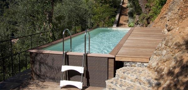 Piscine vasche idromassaggio for Laghetto per esterno