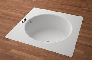 Vasca Da Bagno Rotonda Da Incasso : Vasca rotonda vasca da bagno da appoggio tonda in marmo origin by